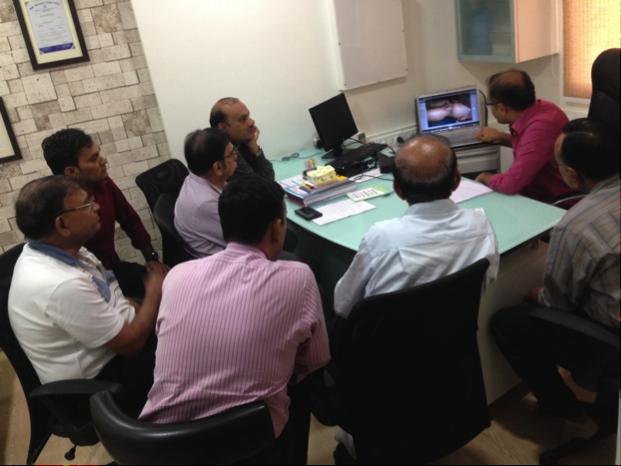 GP Meeting at Cutis Hospital, Ghatlodia, Ahmedbad