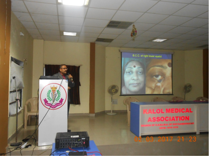 kalol Medical Association CME - Cutis Hospital Ahmedabad